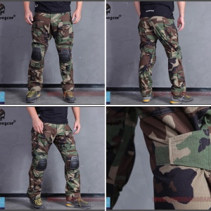 Celana tactical emerson gear import plus kneepad
